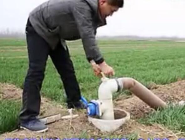 给水栓安装结构
